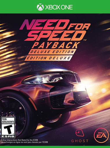 Need for Speed Payback Deluxe Edition - Xbox One (Digital Code) cd key