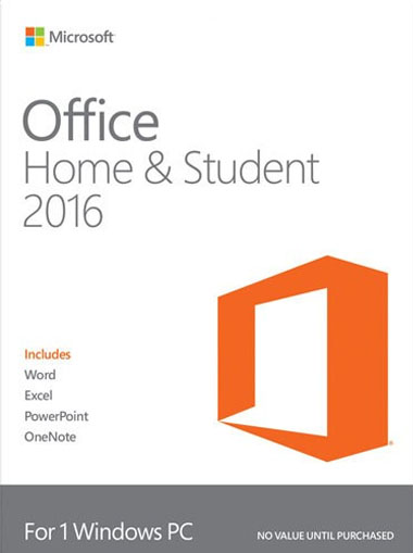 Microsoft Office 2016 Home and Student cd key