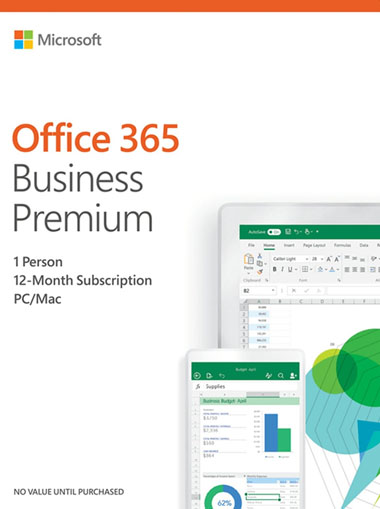 Microsoft Office 365 Business Premium 5 devices 1 Year cd key