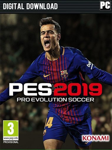Pro Evolution Soccer 2019 (PES 2019)  cd key