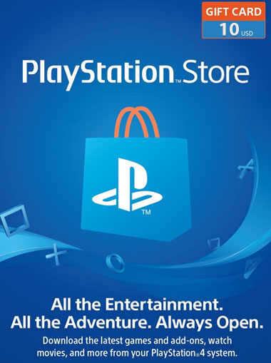 Playstation Network (PSN) Card $10 USA cd key