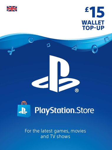 Playstation Network (PSN) Card £15 GBP cd key