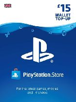 Buy Playstation Network (PSN) Card £15 GBP Game Download
