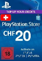 Buy Playstation Network (PSN) Card 20 CHF (Switzerland) Game Download