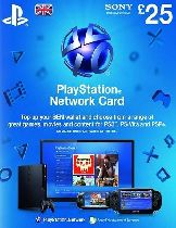 Buy Playstation Network (PSN) Card £25 GBP Game Download