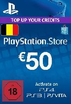 Buy Playstation Network (PSN) Card €50 Euro (Belgium) Game Download