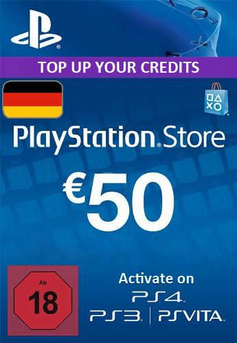 Playstation Network Card 50 EUR PSN