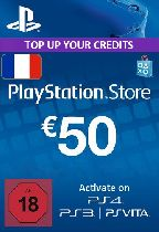 Buy Playstation Network (PSN) Card €50 Euro (France) Game Download
