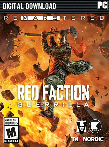 Red Faction Guerrilla Re-Mars-tered  cd key