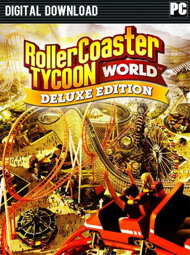 RollerCoaster Tycoon World Deluxe Edition cd key