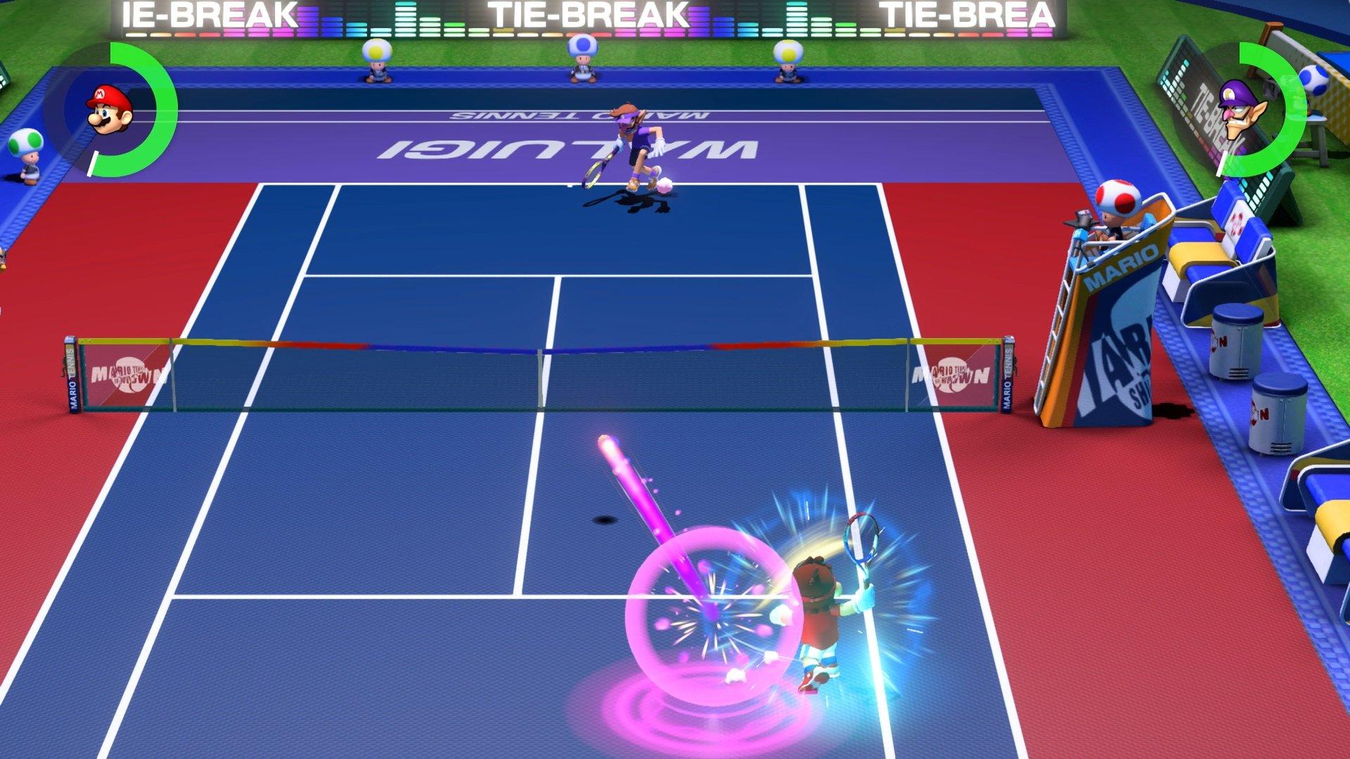 Resultado de imagen de mario tennis aces gameplay