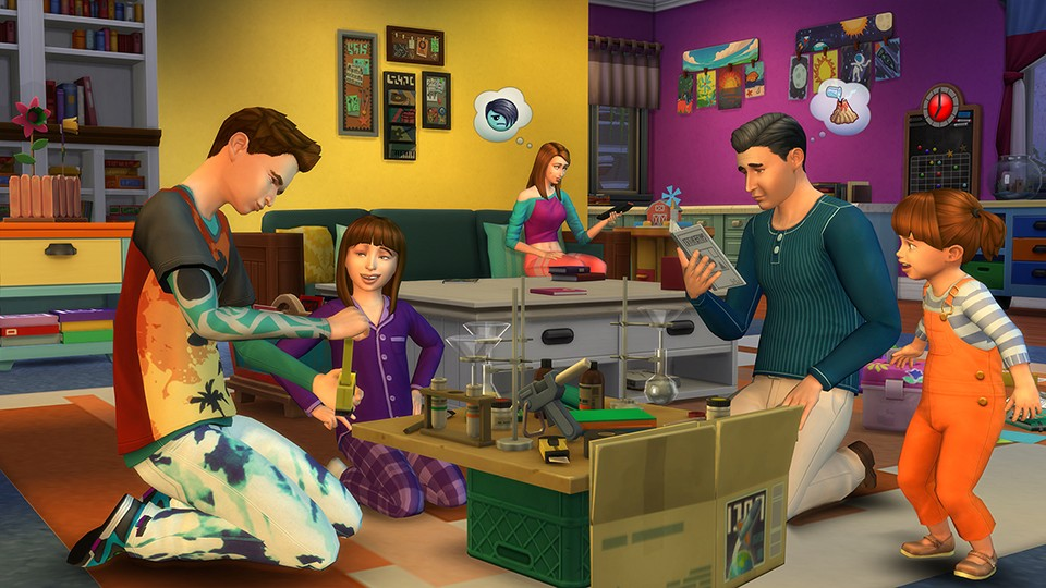 Where to buy homework sims 4