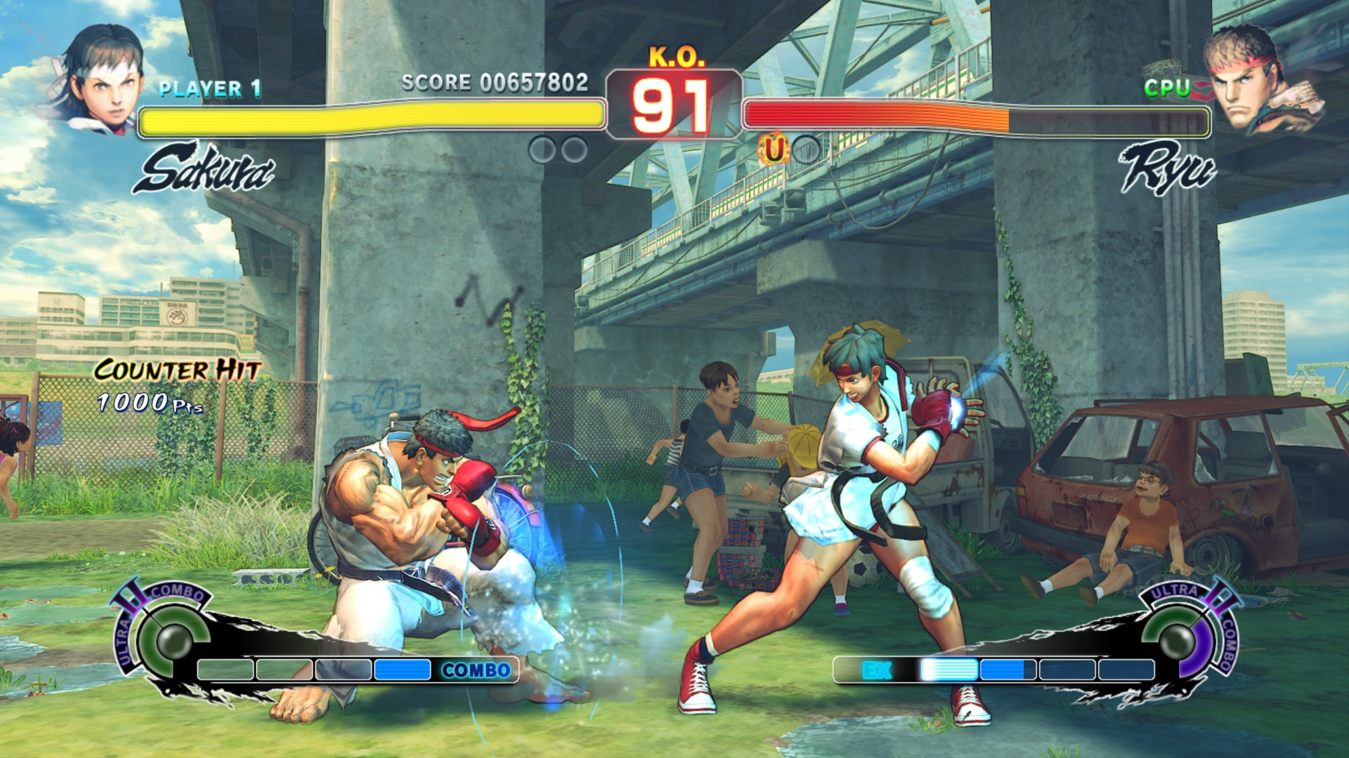 Streetfighter Game