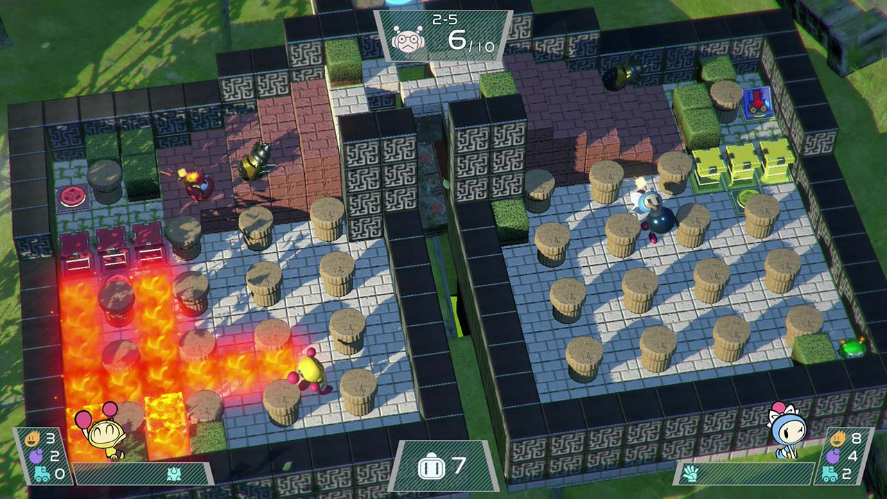 acheter super bomberman r nintendo switch jeu pc. Black Bedroom Furniture Sets. Home Design Ideas