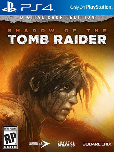 Shadow of the Tomb Raider Croft Edition - PS4 (Digital Code) cd key