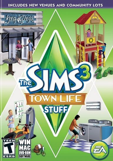 The Sims 3: Town Life Stuff cd key