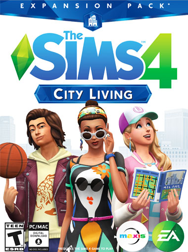 The Sims 4 City Living cd key