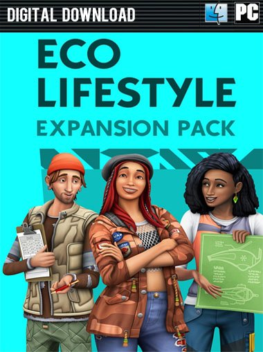 The Sims 4 Eco Lifestyle DLC cd key
