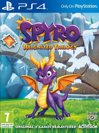 Spyro Reignited Trilogy - PS4 (Digital Code) cd key