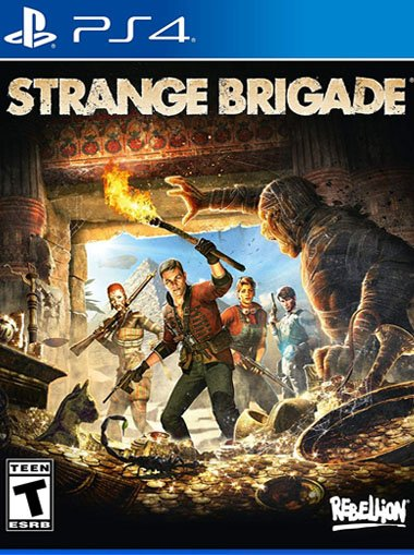 Strange brigade - PS4 (Digital Code) cd key