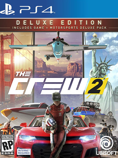 The Crew 2 Deluxe Edition - PS4 (Digital Code) cd key