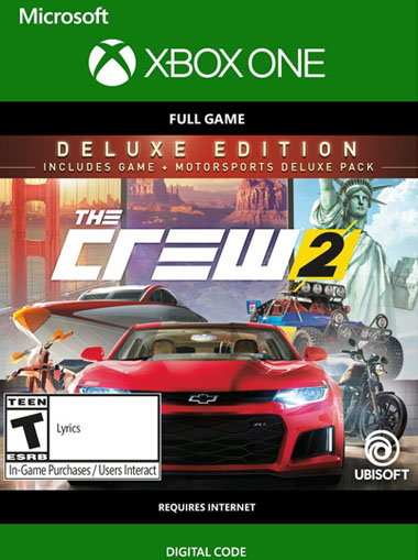 The Crew 2 Deluxe Edition - Xbox One (Digital Code) cd key