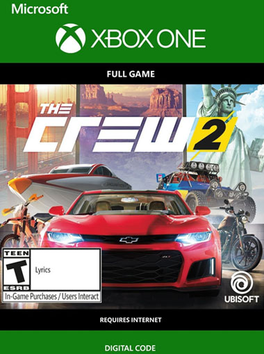 The Crew 2 - Xbox One (Digital Code) cd key