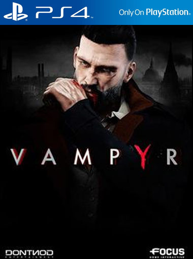 Vampyr - PS4 (Digital Code) cd key