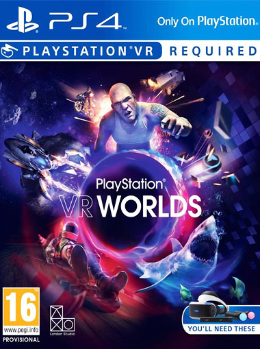 Playstation VR WORLDS - PlayStation VR PSVR (Digital Code) cd key