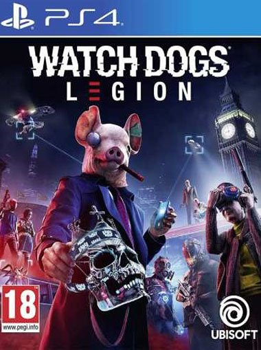 Watch Dogs Legion - PS4 (Digital Code) cd key