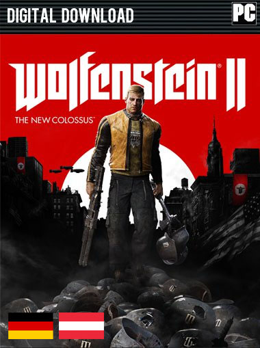Wolfenstein II: The New Colossus (German Edition) cd key