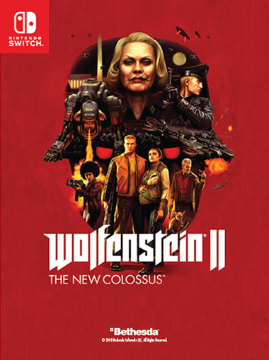Wolfenstein II: The New Colossus - Nintendo Switch cd key