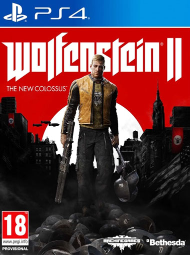 Wolfenstein II: The New Colossus - PS4 (Digital Code) cd key