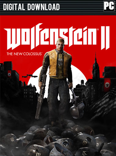 Wolfenstein II: The New Colossus + Preorder DLC (UNCUT) cd key