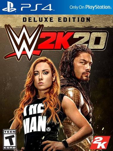 WWE 2K20 Deluxe Edition - PS4 (Digital Code) cd key