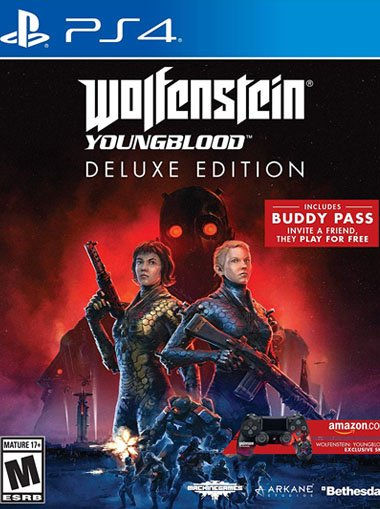 Wolfenstein: Youngblood DeLuxe Edition - PS4 (Digital Code)  cd key