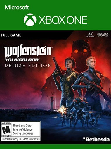 Wolfenstein: Youngblood DeLuxe Edition - Xbox One (Digital Code) cd key