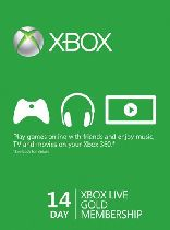 Buy Microsoft Xbox Live 14 Day Gold Membership Card Game Download