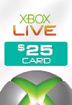 Buy Microsoft Xbox Live $25 Card Game Download