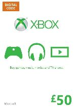 Buy Microsoft Xbox Live £50 Card Game Download