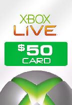 Buy Microsoft Xbox Live $50 Card Game Download
