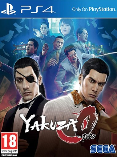 Yakuza 0 - PS4 (Digital Code) cd key