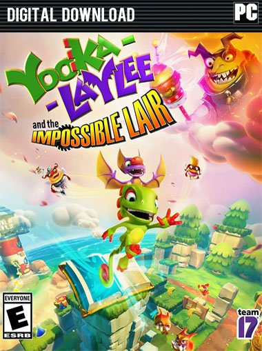 Yooka-Laylee and the Impossible Lair  cd key