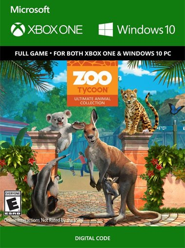 Zoo Tycoon: Ultimate Animal Collection - Xbox One/Windows 10 (Digital Code)  - Xbox Live